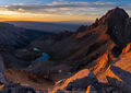Mount Sneffels, Colorado, San Juan Mountains, Ouray, Blue Lakes, boulders, Yankee Boy Basin, 14er, fourteener, Wilderness