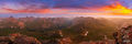14er, Colorado, Lake City, Landscape, Mountains, Panorama, Panoramic, San Juan Mountains, Smoke, Sunrise, Uncompahgre Peak, Wetterhorn Peak, haze, vibrant