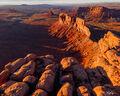 Utah, Desert, winter, sandstone, life, Valley of the Gods, geology