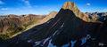 Arrow Peak, Colorado, Grenadier Range, San Juan Mountains, Sunset, Vestal Peak