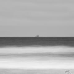 Alone at Sea (2021) print