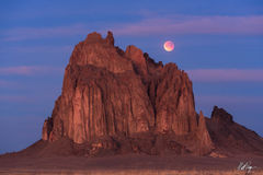 Blood Moon over Shiprock (2018) print