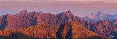 Elk Mountains Sunrise Panorama (2018) print