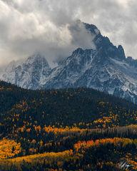 Mount Sneffels Autumn Storm (2019) print