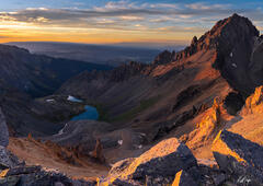 Glorious Sunset at Upper Blue Lakes (2020) print