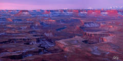 Green River Sunrise Panorama (2020) print