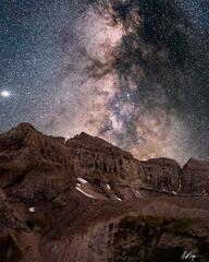 Milky Way Over Dallas Peak (2020) print
