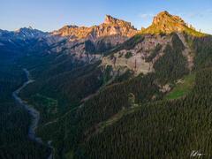 Precipice Peak at Sunrise (2020) print