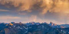 Needle Mountains Cloud Drama Panorama (2021) print
