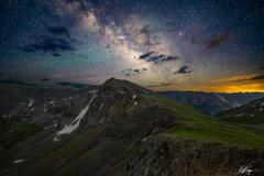 Tower Peak Milky Way (2021) print