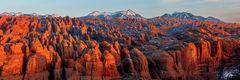 Sandstone Glow Panorama (2020) print