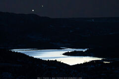 The Great Conjunction Over Lake Nighthorse (2020) print