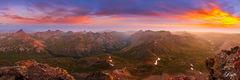Epic Sunrise from the summit of Uncompahgre Peak (2015) print