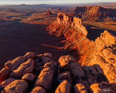 Valley of the Gods at Sunrise (2021) print
