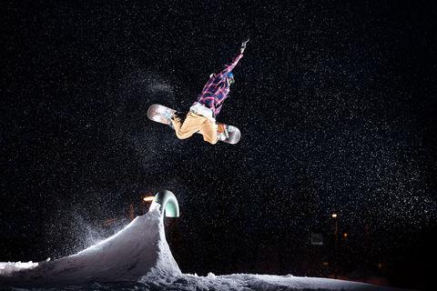 2019, Vallerret, Voss, flash, snowboarding, winter