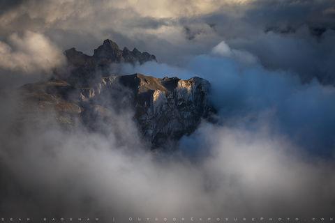 Sean Bagshaw - Mountain Scene
