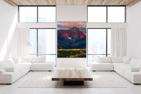 living room, fine art photography print