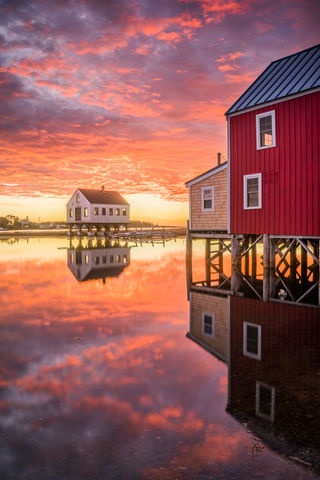 Beautiful, Cape Porpoise, Clouds, Coast, Colorful, Dawn, Fishing Village, Iconic, Image, Kennebunkport, Landscape, ME, Maine, Morning, New England, Photography, Reflections, Scenery, Scenic, Sky, Sunr
