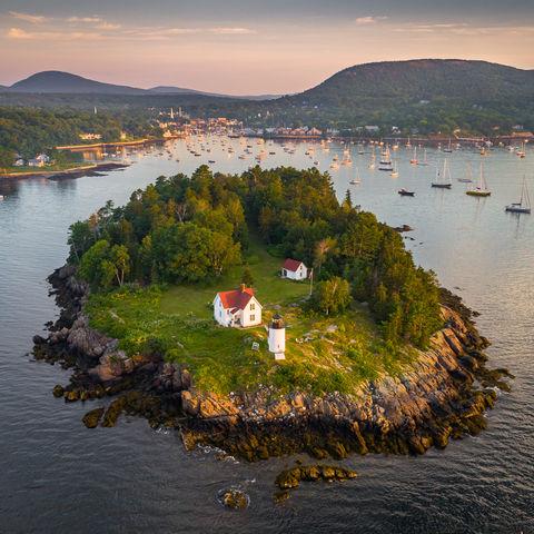 Camden, Coast, Coast of Maine, Curtis Island, Image, Island, Landscape, Light, Lighthouse, ME, Maine, New England, Ocean, Photography, Scenery, Scenic, Summer, Sunrise, USA