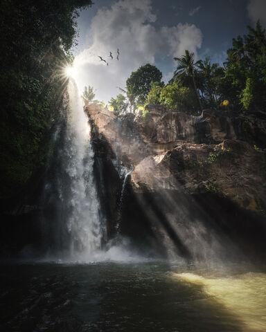 Bali, Blangsinga, Tegenungan, Waterfall