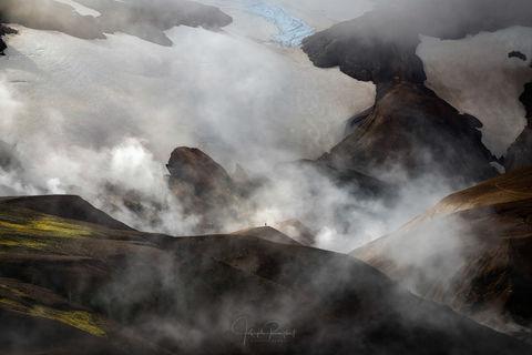 Geothermal, Glacier, Highlands, Hiker, Hiking, Human, Human Element, Iceland, Icelandic Highlands, Joseph Roybal, Kerlingarfj...