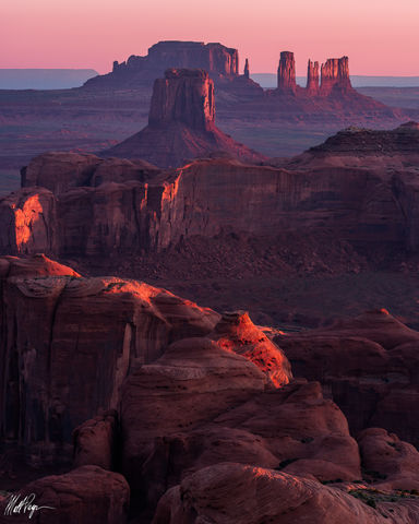 Dawn at Monument Valley (2017)