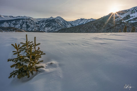 Cold, Colorado, Durango, Landscape, Molas Pass, Mountains, San Juan Mountains, Silverton, Snow, Subzero, Sunrise, Sunstar, Winter, morning