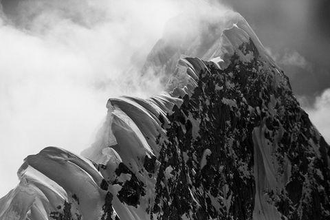 Mount Huntington Denali Alaska Aerial