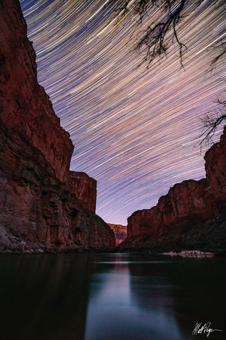 Arizona, Colorado River, Grand Canyon, Landscape, Long Exposure, Night, Rafting, Star Trails, Stars, Wonders