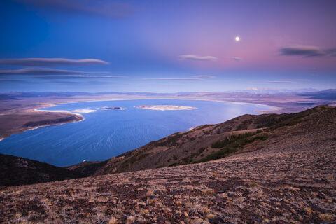California, Mono Basin, North America, Owens Valley, USA, moon