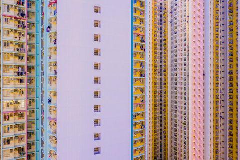 Sherbert Density - The Block Tower - Aerial Hong Kong