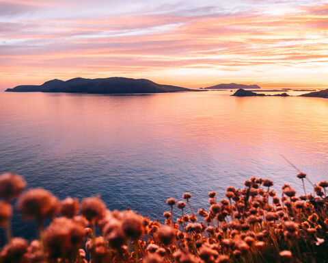 Slea Head Sunset Landscape