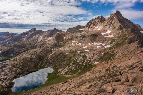14er, 14ers, Climbing, Colorado, Lake, Landscape, Loxia 21, Mountains, Reflection, San Juan Mountains, Sony A7R2, Sunlight Peak, Sunlight Spire, Weminuche Wilderness Area