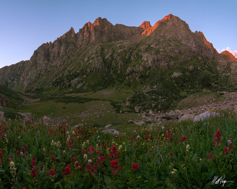 13ers, Animas Peak, Colorado, Durango, Landscape, Monitor Peak, Mountains, Needle Range, Peak 13, Ruby Basin, Ruby Lake, San Juan Mountains, Silverton, Sunset