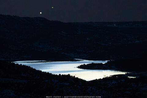 The Great Conjunction Over Lake Nighthorse (2020)