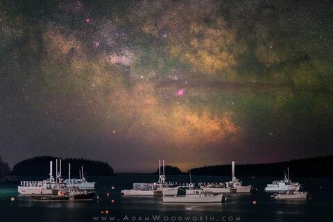 Adam Woodworth, Night Sky Photography