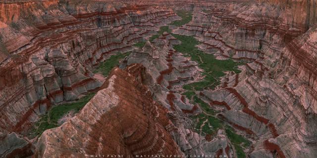 Erosion, Panorama, Ribbons, amphitheatre, canyon, desert, geologic, layers