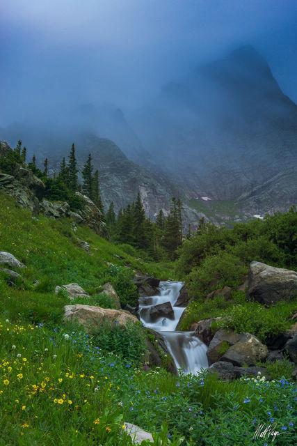 14er, Clouds, Colorado, Crestone Needle, Fog, Long Exposure, Mountains, Sangre de Cristo, Stream, Water, Westcliffe, Wildflowers