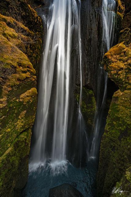 Gljufrafoss, Iceland, Landscape, Long Exposure, Water, Waterfall