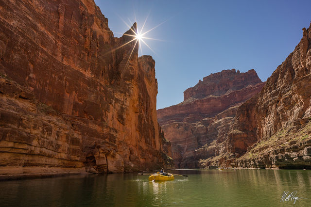 Grand Canyon National Park, Arizona, Colorado River, Rafting, River, Sandstone, water,  sunstar