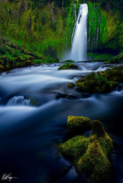 Lemolo Falls, Long Exposure, Waterfall, Southern Oregon, mossy