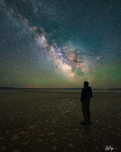 Milky Way Self-Portrait (2021)