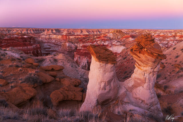Desert Southwest, Hoodoo, Sunset, geologic