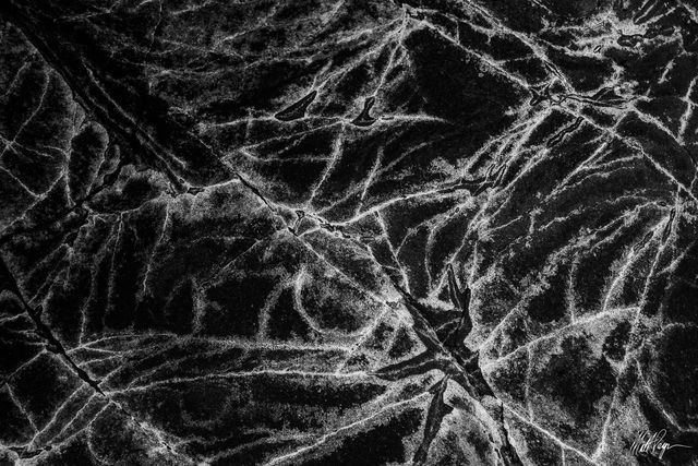 Black and White, Rock, abstract, cracks, salt, patterns