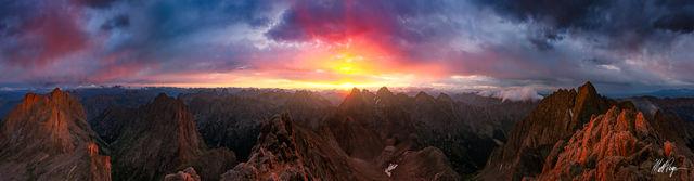 14er, 14ers, Vestal Peak, Arrow Peak, Chicago Basin, Climbing, Colorado, Durango, Eolus Peak, Epic, Grenadier Range, Landscape, Mountains, Needle Range, sunrise, Windom Peak, Sunlight Peak, Wetterhorn