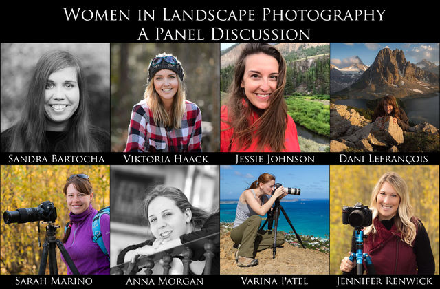 Women in Landscape Photography: A Panel Discussion