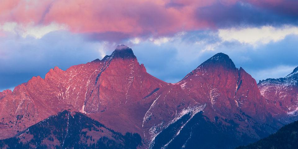 13ers, Colorado, Durango, Pigeon Peak, Purgatory Resort, Turret Peak