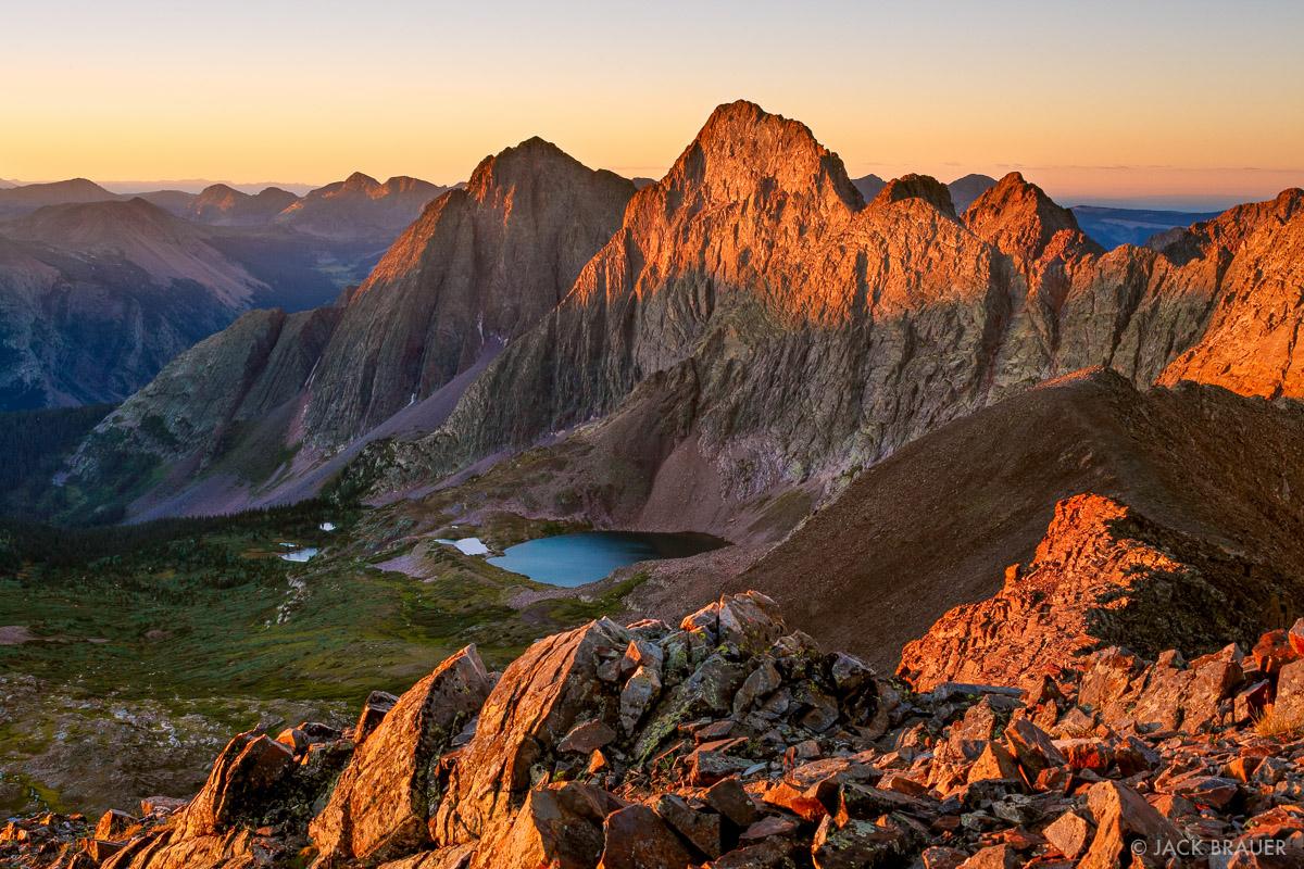 Colorado, Grenadier Range, San Juan Mountains, Weminuche Wilderness, photo