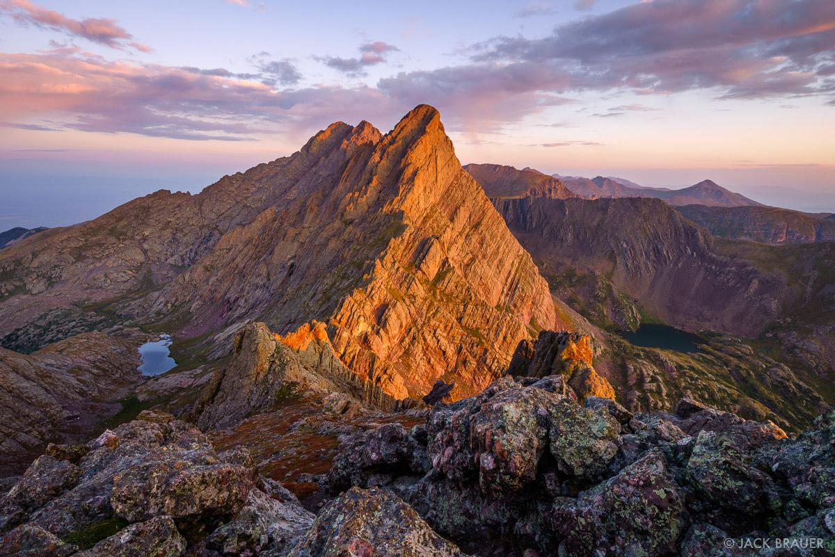 Broken Hand Peak, Colorado, Crestone Needle, Sangre de Cristos, photo