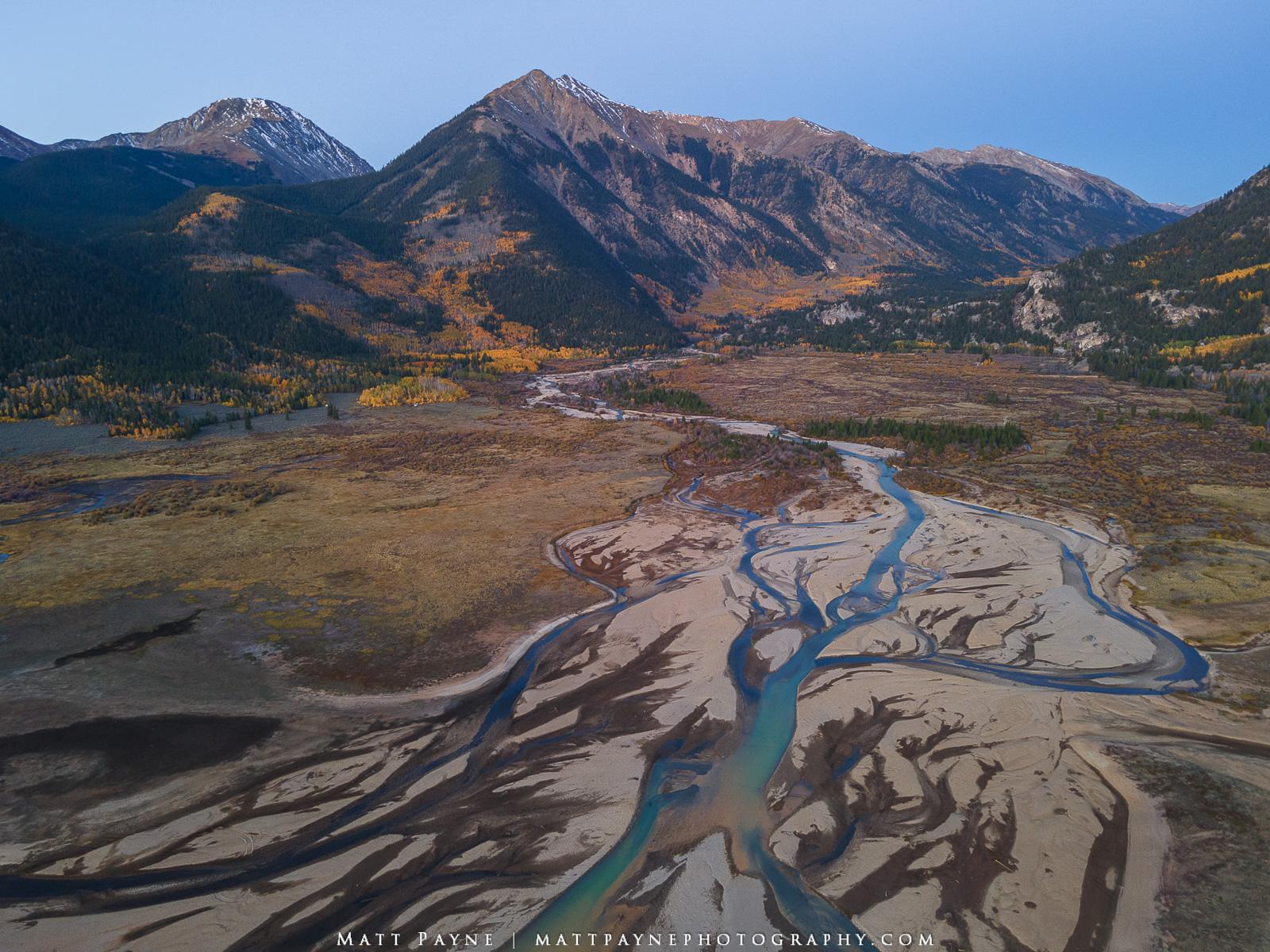 13ers, Aspen Trees, Autumn, Colorado, Fall, Fall Colors, Lake Creek, Landscape, Leadville, Mount Hope, Mountains, Rinker Peak, Twin Lakes, colorful, Landscape Photography, photo